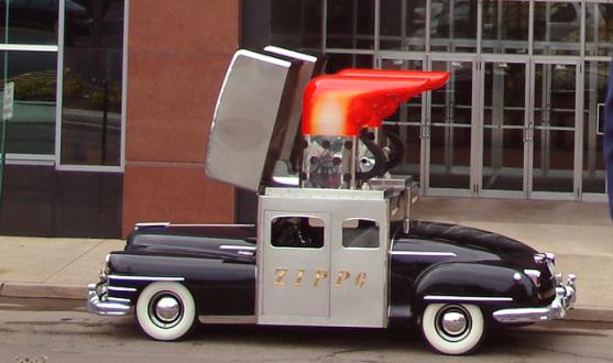 zippo-car-at-headquarters